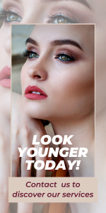 Look Younger today using dermal fillers